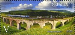 UKRAINE/UKRAINA 2020 MI.1922**,DIVARI.1872,YVERT...,Railway Bridge In Vorokhta MNH ** - Ukraine