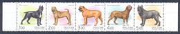 RUSSIE/RUSSIA/RUSSLAND/ROSJA 2002 MI.971-75 ** ,ZAG.739-43,YVERT. , Dogs, MNH - Unused Stamps