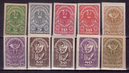 Österreich 1919/20 Mi.-Nr. 275 - 283 Postfrisch ** (A25-062) - Nuevos