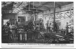 54 - BACCARAT - ATELIER DE CONSTRUCTION EMILE LAURENT. - Baccarat