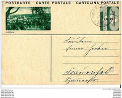 """21-56 - Entier Postal  Avec Illustration """"Aarau"""" 1931 - Entiers Postaux"""