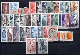 Año Completo De 1955  Francia - 1950-1959