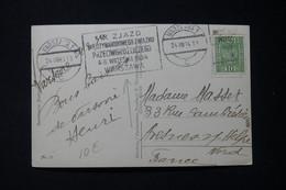 POLOGNE - Affranchissement De Warszawa Sur Carte Postale En 1934 Pour La France - L 89995 - Briefe U. Dokumente