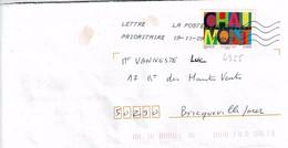 TP N° 4355 Seul Sur Enveloppe Du Bureau 16834A - 1961-....