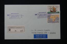 MOZAMBIQUE - Enveloppe En Recommandé De Lourenço Marquès Pour Luanda En 1972 Avec Cachets Commémoratif Aérien - L 89997 - Mozambique