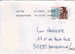 TP N° 4356 Seul Sur Enveloppe Du Bureau 39002A - 1961-....