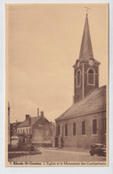 RHODE SAINT GENESE    L'EGLISE ET LE MONUMENT DES COMBATTANTS - Rhode-St-Genèse - St-Genesius-Rode