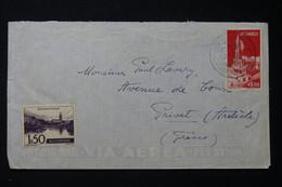 MOZAMBIQUE - Enveloppe De L 'Hôtel Polana De Lourenço Marqués Pour La France - L 89998 - Mozambique