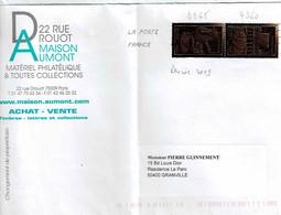TP N° 4360 Et 4365 Sur Enveloppe De Paris - 1961-....