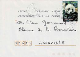TP N° 4372 Seul  Sur Enveloppe Du Bureau 41638A - 1961-....