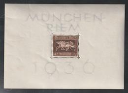 """Deutsches Reich - 1936 - Block 4 """"Braunes Band"""" **/postfrisch (1/369) - Blokken"""