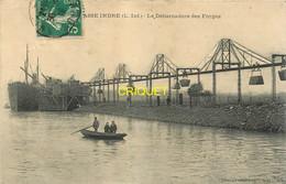 44 Basse-Indre, Le Débarcadère Des Forges, Affranchie 1915 - Basse-Indre
