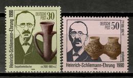 Germany 1990 Alemania / Archeology Heinrich Schliemann MNH Arqueología Archeologie / Cu17718  32-1 - Archaeology