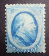 NEDERLAND   1864  Nr. 4   Scharnier *    CW NVPH 125,00 - Unused Stamps