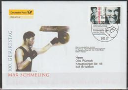 BRD FDC 2005 MiNr.2489  100. Geb. Max Schmeling ( D 3946 )günstige Versandkosten - FDC: Sobres