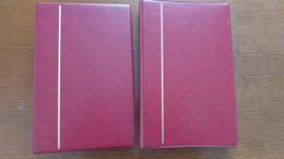 2 Albums Pour FDC Avec 25 Pages De 6 Cases - Encuadernaciones Y Hojas