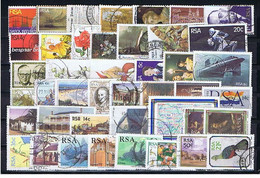 South Africa #4: 69 Diff. Used 1975-1997, 69 Versch. Gestempelt - Collections, Lots & Séries