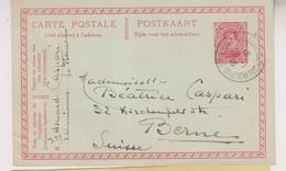 Carte Postale Du 20/01/1916 Depuis Ste-Adresse Vers La Suisse - Postales [1909-34]