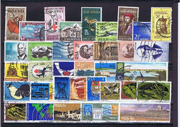 South Africa #3: 1962-1974, 35 Versch. Gestempelt, 35 Diff. Used - Collections, Lots & Séries