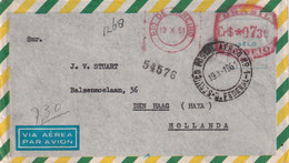 BRESIL 1951 PLI AERIEN DE RIO DE JANEIRO - Cartas
