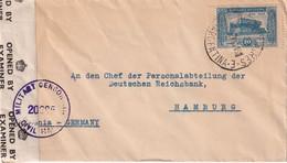 ARGENTINE 1946 LETTRE CENSUREE DE BUENOS AIRES - Briefe U. Dokumente