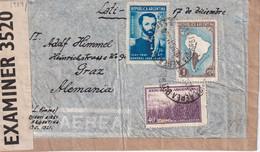 ARGENTINE 1941 LETTRE CENSUREE DE BUENOS AIRES POUR GRAZ - Briefe U. Dokumente