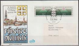 BRD FDC 1981 Nr.1098Paar Evangelischer Kirchentag Hamburg ( D 1473 )Günstige Versandkosten - FDC: Sobres