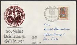 BRD FDC 1980 Nr.1045 800. Jahrestag Reichstag Zu Gelnhausen ( D 2796 ) Günstige Versandkosten - FDC: Sobres