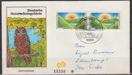 BRD FDC 1980 Nr.1052 Paar Naturschutzgebiete (  D 5709 ) Günstige Versandkosten - FDC: Sobres