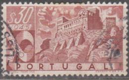 PORTUGAL-1946,   Castelos De Portugal.  $30    (o)  Afinsa  Nº 665 - Used Stamps