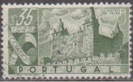PORTUGAL-1946,   Castelos De Portugal.  $35    (o)  Afinsa  Nº 666 - Used Stamps