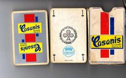Jeu De 32 Cartes CASANIS Anisette Liqueur Complet - Barajas De Naipe