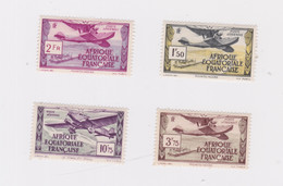 French Equatorial Africa-1937 Mounted Mint No Thins Or Creases And Good Perforations Definitive Air Stamps - Non Classés