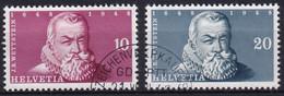 Zumstein W29-W30 / Michel 512-513 - Blockausschnitte Sauber Gestempelt - Blocks & Sheetlets & Panes