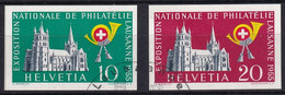 Zumstein W33-W34 / Michel 611-612 - Blockausschnitte Sauber Gestempelt - Blocks & Sheetlets & Panes