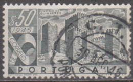 PORTUGAL-1946,   Castelos De Portugal.  $50    (o)  Afinsa  Nº 667 - Used Stamps