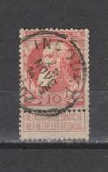 COB 74 Centraal Gestempeld Oblitération Centrale INCOURT - 1905 Thick Beard