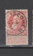 COB 74 Centraal Gestempeld Oblitération Centrale ISEGHEM - 1905 Thick Beard