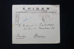 ROUMANIE - Enveloppe Commerciale De Bucarest En Recommandé Pour La France En 1946, Affranchissement Mécanique - L 90043 - Briefe U. Dokumente