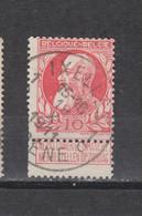 COB 74 Centraal Gestempeld Oblitération Centrale IXELLES - ELSENE 1C - 1905 Thick Beard