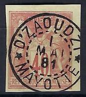 COLONIES FRANCAISES: Le Y&T 27 Obl. - Sage