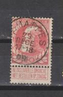 COB 74 Centraal Gestempeld Oblitération Centrale JEMAPPES - 1905 Thick Beard