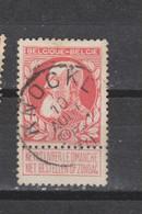 COB 74 Centraal Gestempeld Oblitération Centrale KNOCKE - 1905 Thick Beard
