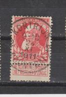 COB 74 Centraal Gestempeld Oblitération Centrale KORTRIJK - COURTRAI 2 - 1905 Thick Beard