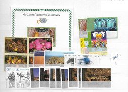 2005 MNH UNO Wien Year Complete, Postfris** - Neufs