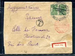 3714 Russia SOVIET UNION AIRMAIL Leningrad Cancel 1931 Cover POSTAGE DUE To Germany Berlin FLUPOSTAMT Pmk - Briefe U. Dokumente