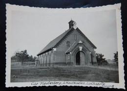 Houthalen-Helchteren - Houthaelen Cité Meulenberg - La Chapelle - Photo Format: 9/6cm - Année: 1946 - 2 Scans - Houthalen-Helchteren