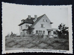 Houthalen-Helchteren - Houthaelen Cité Maison De L'ingénieur - Photo Format: 9/6cm - Année: 1946 - 2 Scans - Houthalen-Helchteren