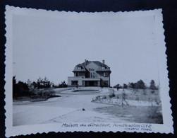 Houthalen-Helchteren - Houthaelen Cité Maison Du Directeur - Photo Format: 9/6cm - Année: 1946 - 2 Scans - Houthalen-Helchteren
