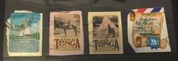 (stamp 1-3-2021) Tonga Selection Of 12 (mostly) Used Stamps - Tonga (1970-...)